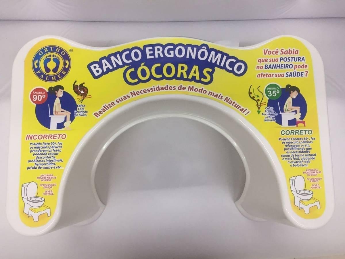 Banco Ergonômico Cócoras  - Orto Curitiba