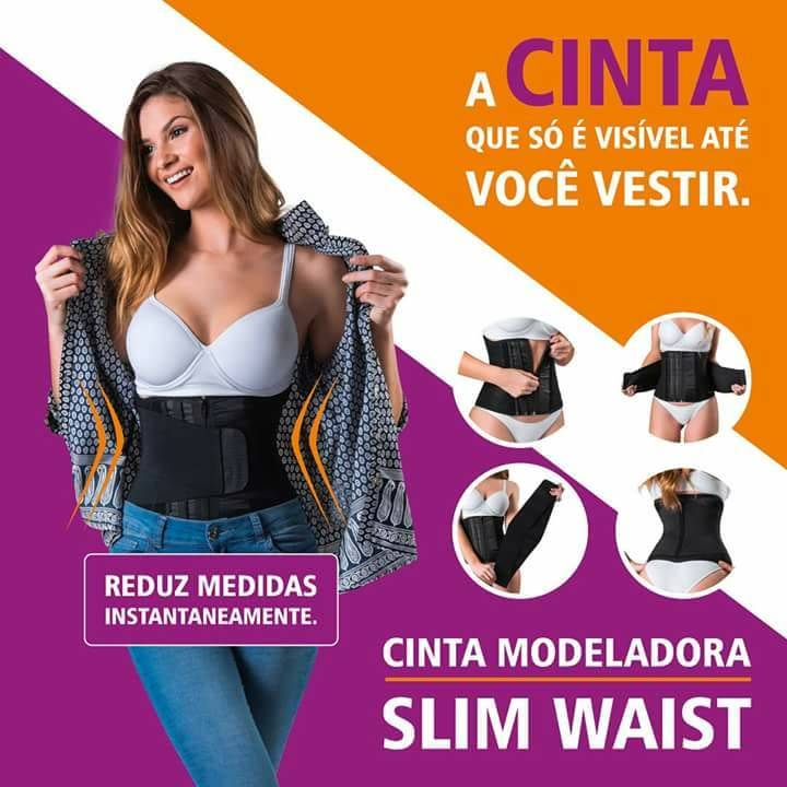 Cinta Modeladora Slim Waist Hidrolight - Orto Curitiba