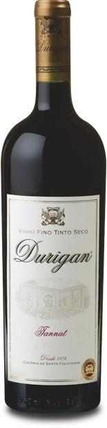 Vinho Fino Tinto Seco Tannat - Vinhos Durigan