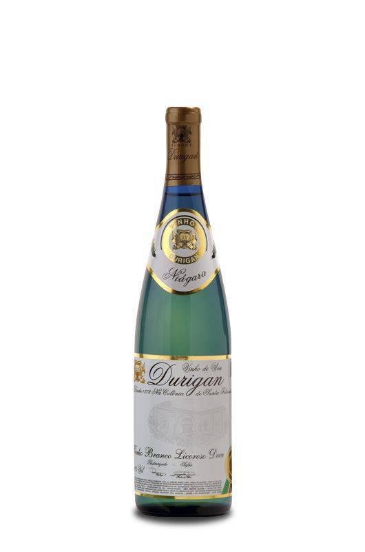Vinho de Mesa Branco Licoroso Doce 700 ml - Vinhos Durigan