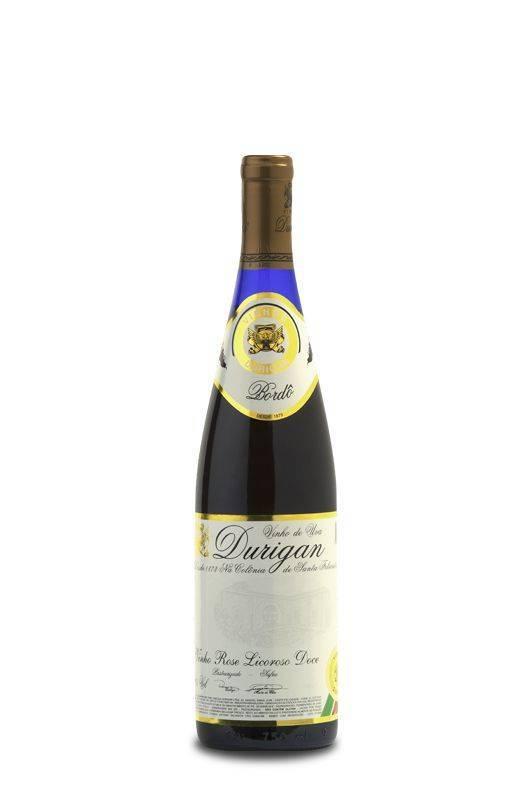 Vinho de Mesa Rosé Licoroso Doce 700 ml - Vinhos Durigan