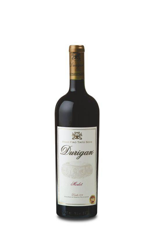 Vinho Fino Tinto Seco Merlot - Vinhos Durigan
