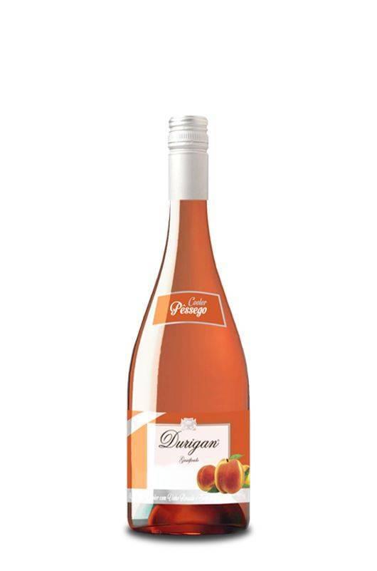 Cooler Pêssego 750 ml - Vinhos Durigan