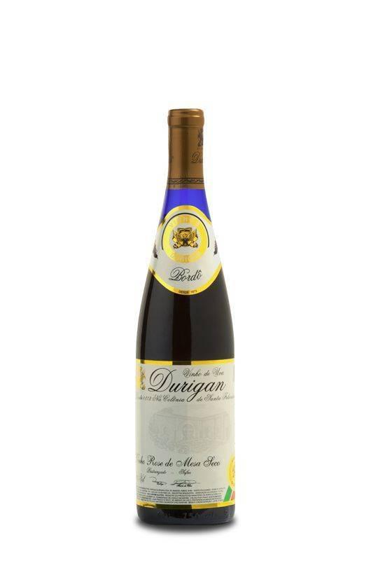 Vinho de Mesa Rosé Seco 700 ml - Vinhos Durigan