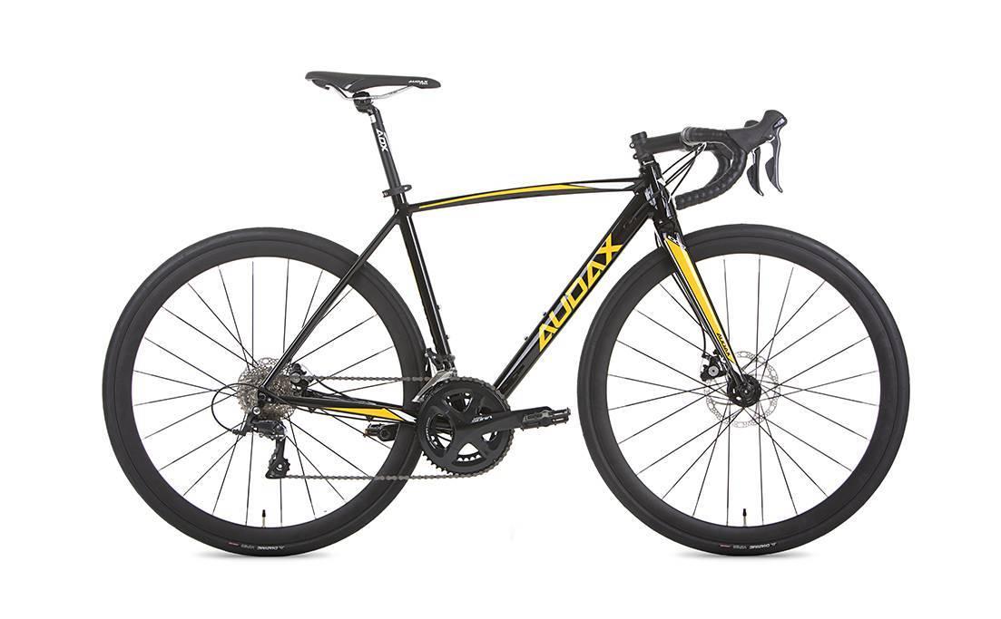 Bicicleta Audax Ventus 1000 Disc 18v Aro 700 Tamanho 57