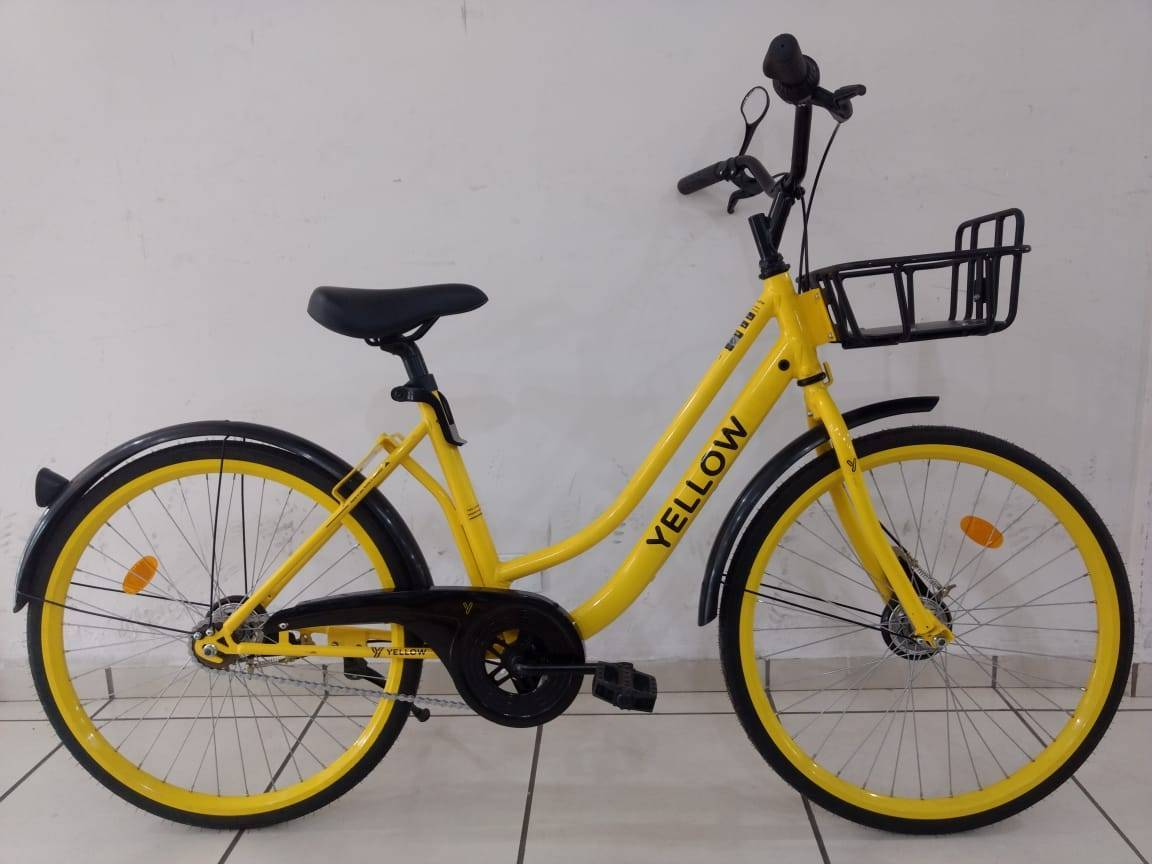 Bicicleta Agile MY Yellow Aro 26 - Bike Portella