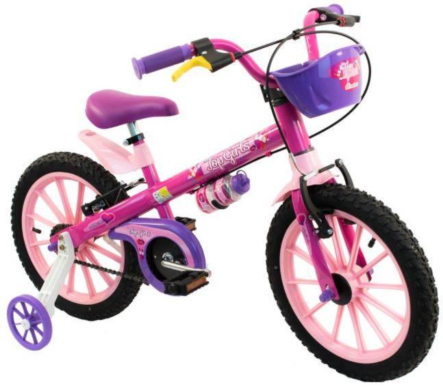 Bicicleta Nathor Top Girls Aro 16 - Bike Portella