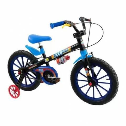 Bicicleta Nathor Tech Boy Aro 16 - Bike Portella