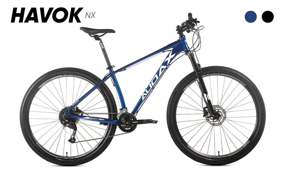 Bicicleta Audax Havok NX 18v Aro 29 - Bike Portella