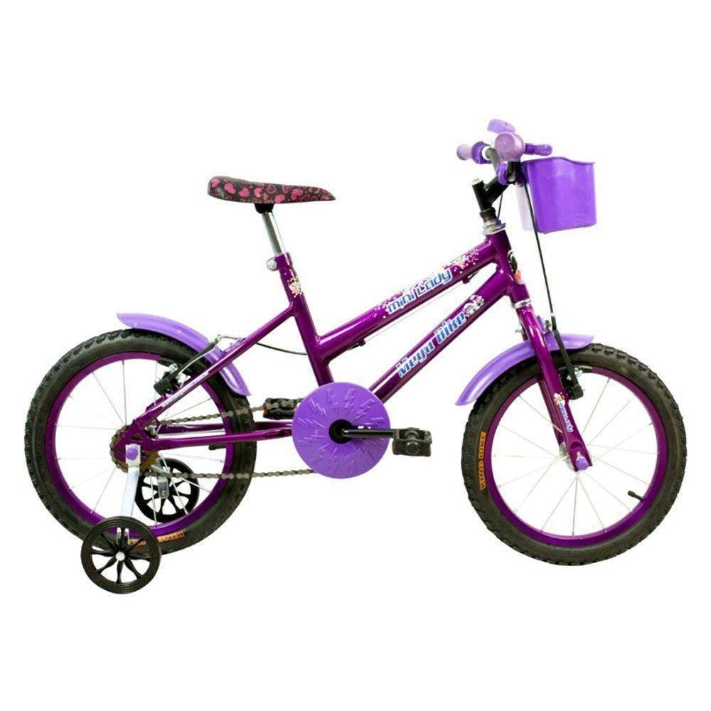 BICICLETA INFANTIL ARO 16 MEGA BIKE MINI LADY COM BUZINA - Cicles Jahn