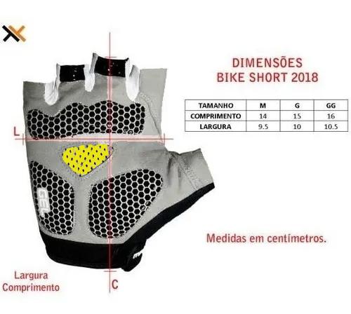 LUVA DE CICLISMO MATTOS RACING PALMA EM GEL PRETO/AMARELO - Cicles Jahn