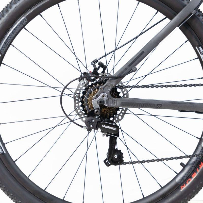 BICICLETA TSW RAVA PRESSURE 21V CINZA/PTO - TAM 17 - Cicles Jahn
