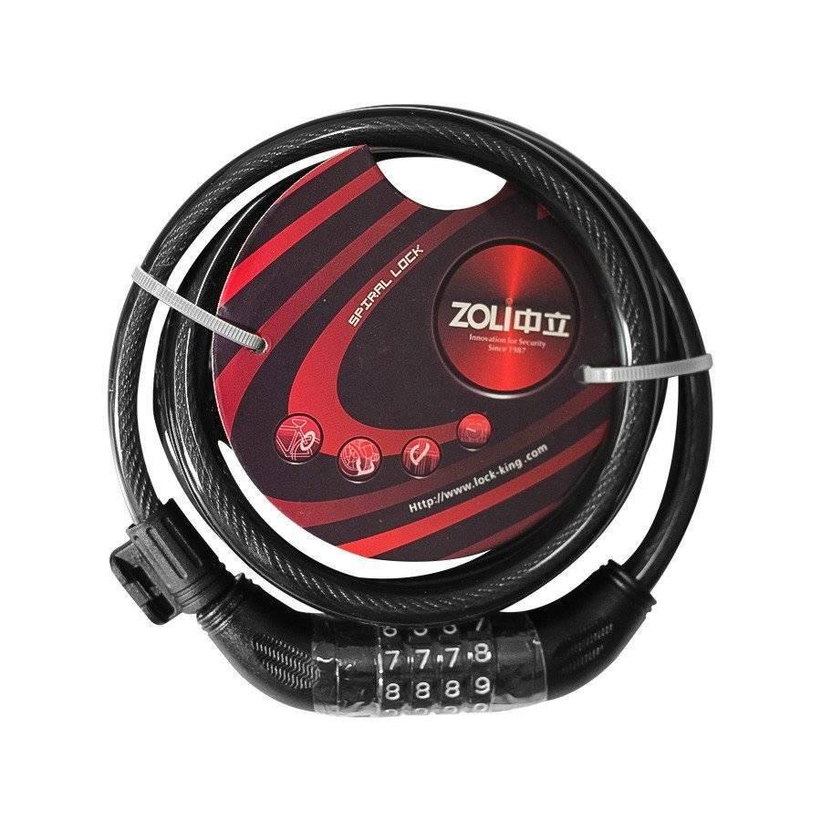 CADEADO ZOLI 1,85m X 12mm - Cicles Jahn
