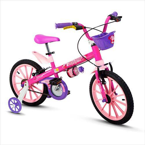 BICICLETA NATHOR ARO 16 TOP GIRLS - Cicles Jahn