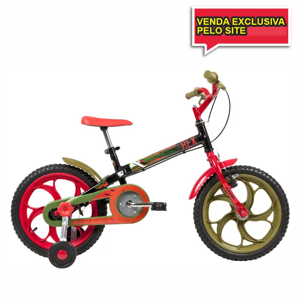 BICICLETA INFANTIL ARO 16 CALOI POWER REX - Cicles Jahn