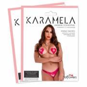 Karamela- Calcinha Comestível Morango com Champanhe. | HOT FLOWERS