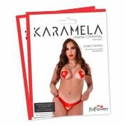 karamela- Calcinha Comestível Morango. | HOT FLOWERS