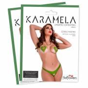 Karamela- Calcinha Comestível Menta. | HOT FLOWERS