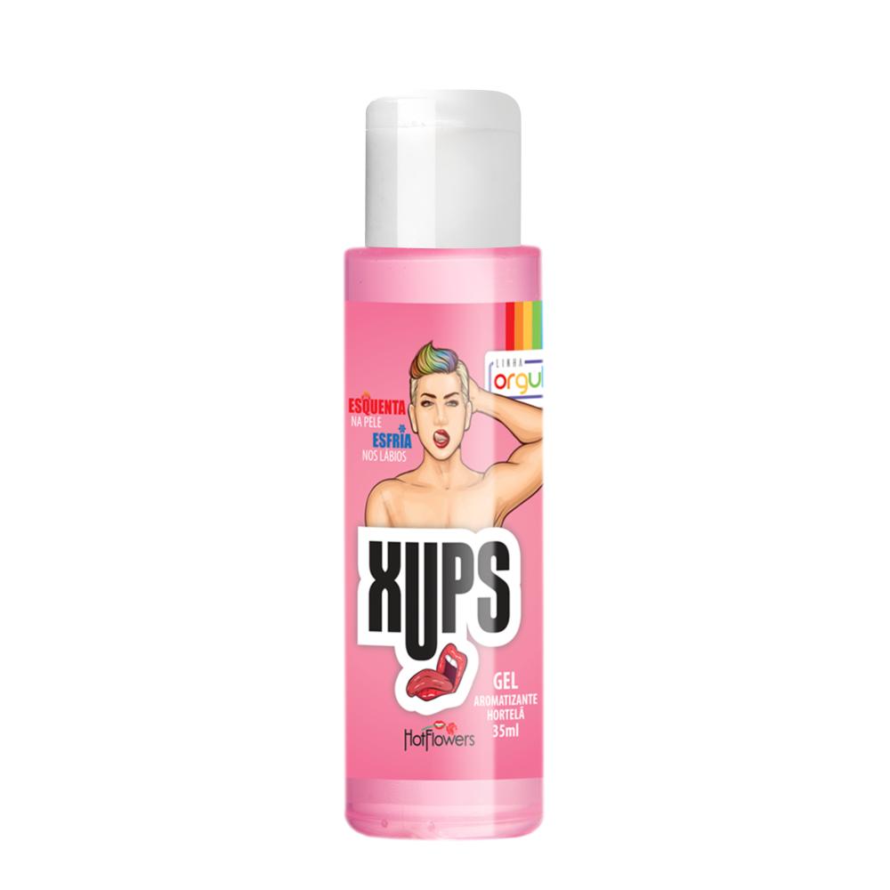 XUPS- Delicioso gel térmico para sexo oral e massagem corporal