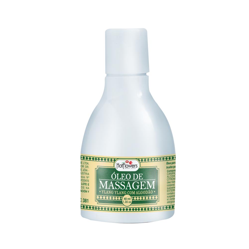ÓLEO DE MASSAGEM RELAXANTE - Utilizado para massagens relaxantes