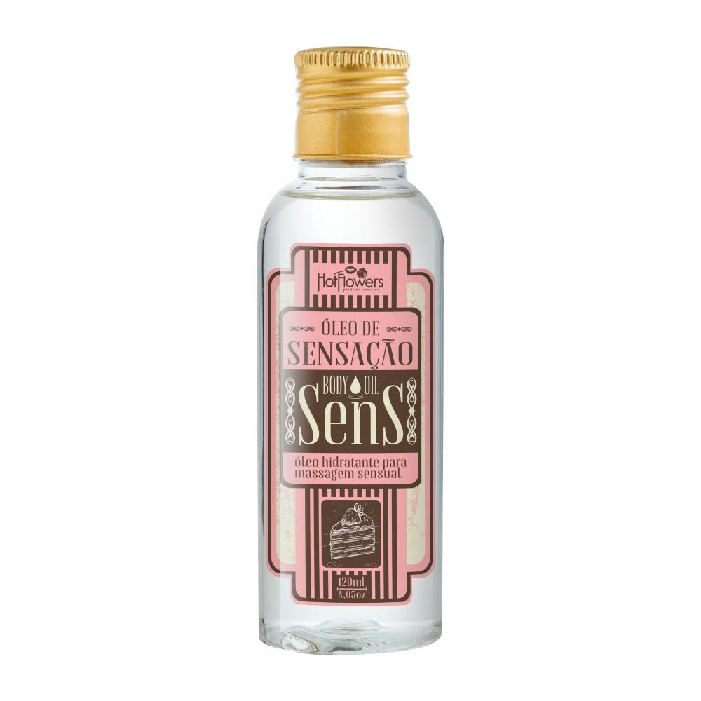 Sens-Oleo Corporal Aroma de Chocolate com Morango