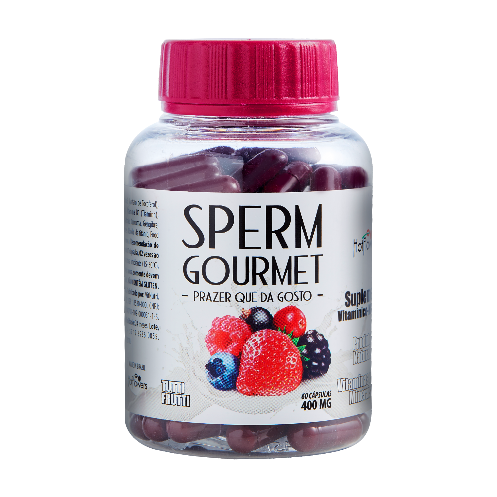 SPERM GOURMET- Altera o sabor do Gozo, Masculino. e Feminino