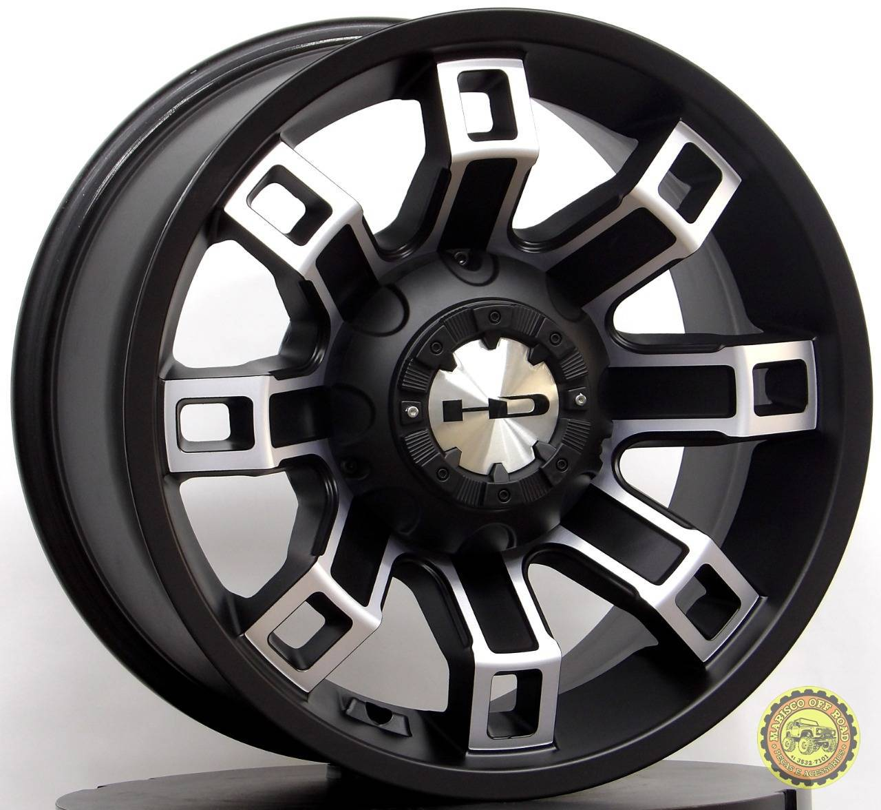 Roda 17x9 HD01, furação 5x127, off set 0 WRANGLER JK - Marisco Off Road