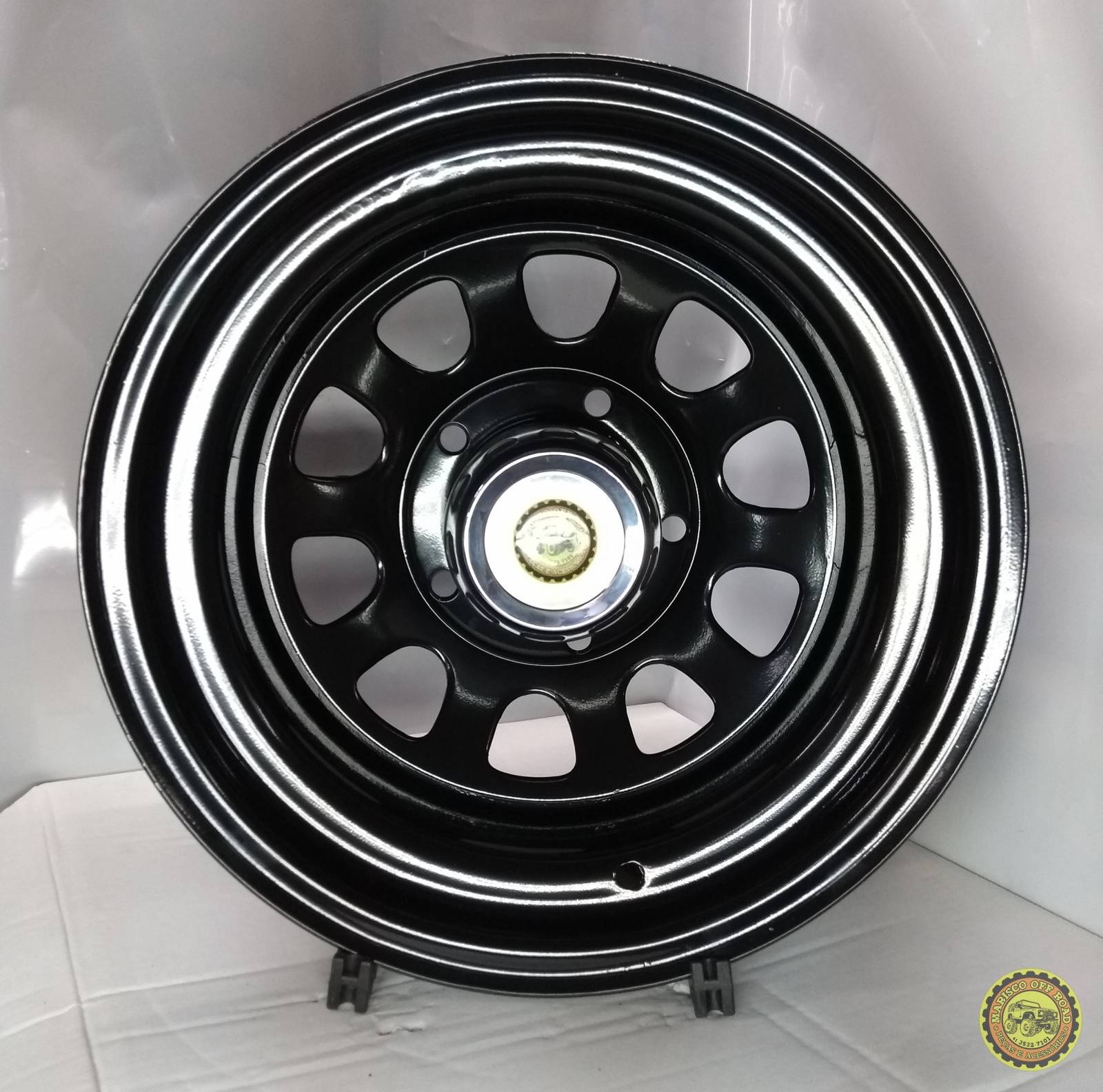 Roda 15x8 Daytona, 5X139,7, Off Set -25 - JEEP-F75-RURAL - Marisco Off Road