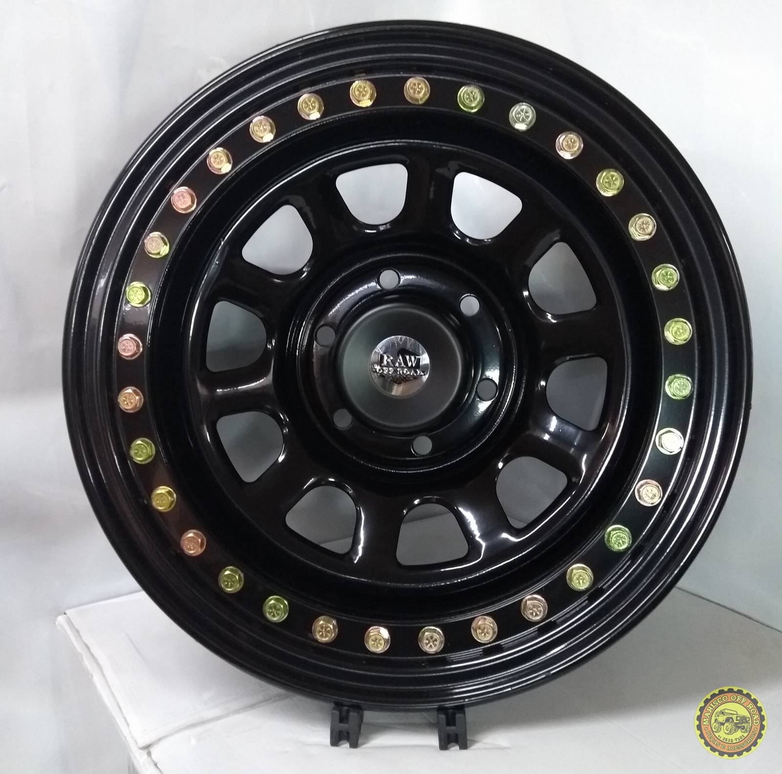 Roda 16x8 BEAD LOCK RAW DAYTONA,  6X139,7, Off Set -25 TROLLER - Marisco Off Road