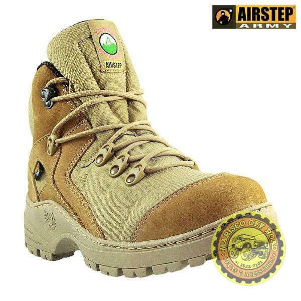 Bota Airstep Off Road Desert cano baixo - Marisco Off Road