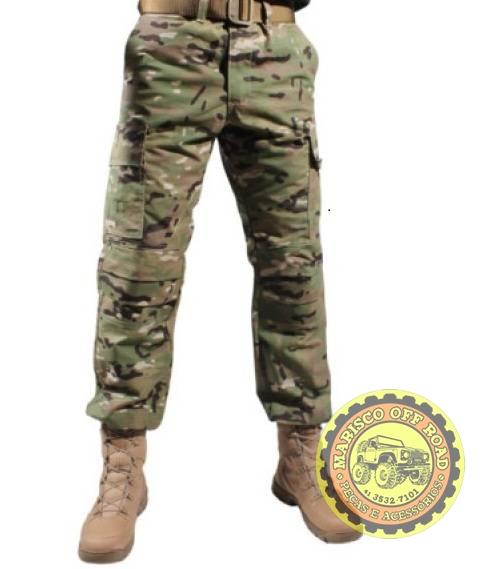 Calça Combat Com Reforço Multicam - Marisco Off Road
