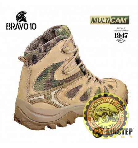 Bota Airstep Hiking Boot Bravo 10 - Multicam - Marisco Off Road