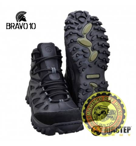 Bota Airstep Hiking Boot Bravo 10 - Black                   - Marisco Off Road