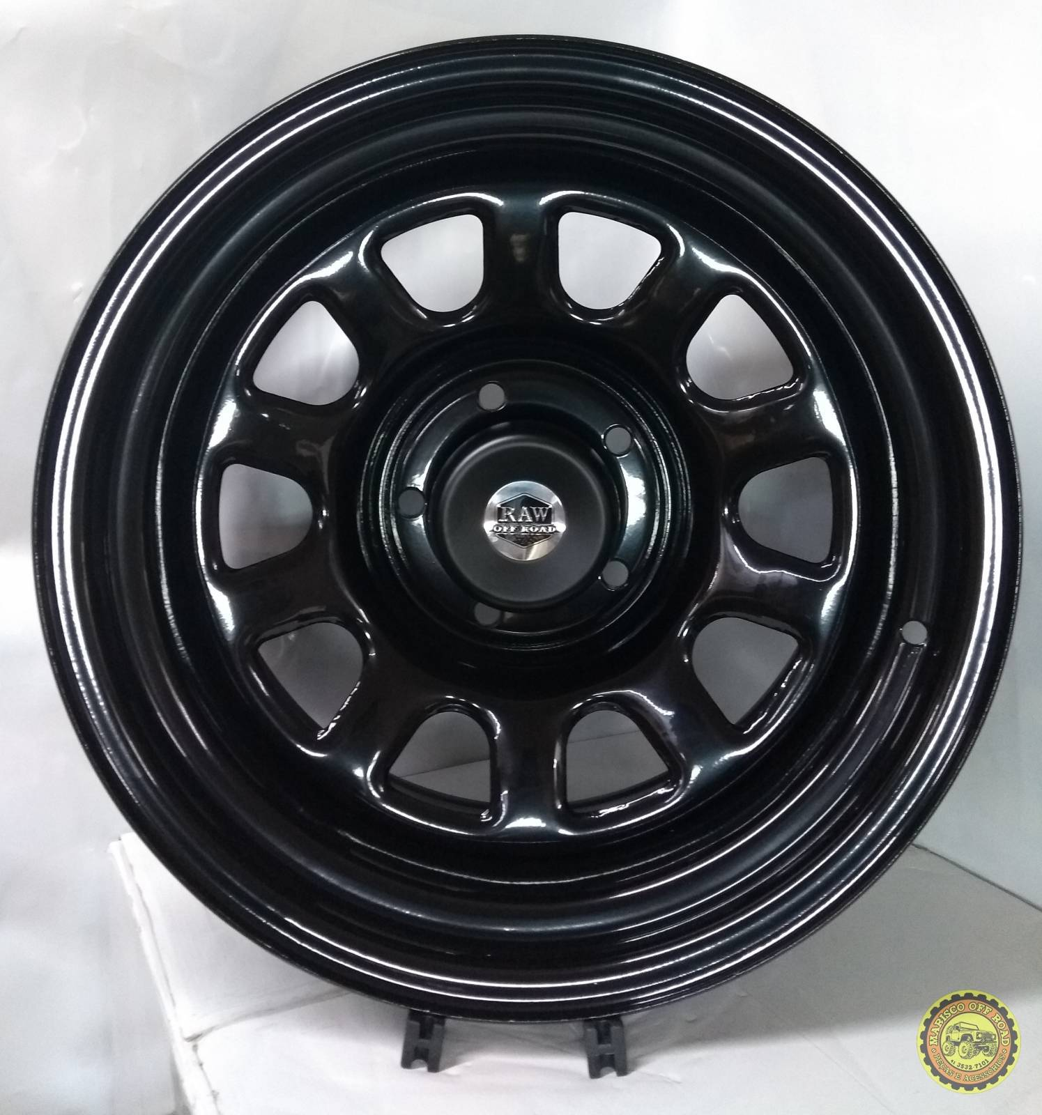 Roda 17x9 RAW Daytona, 5x139,7, Off Set -25 - JEEP-F75-RURAL - Marisco Off Road