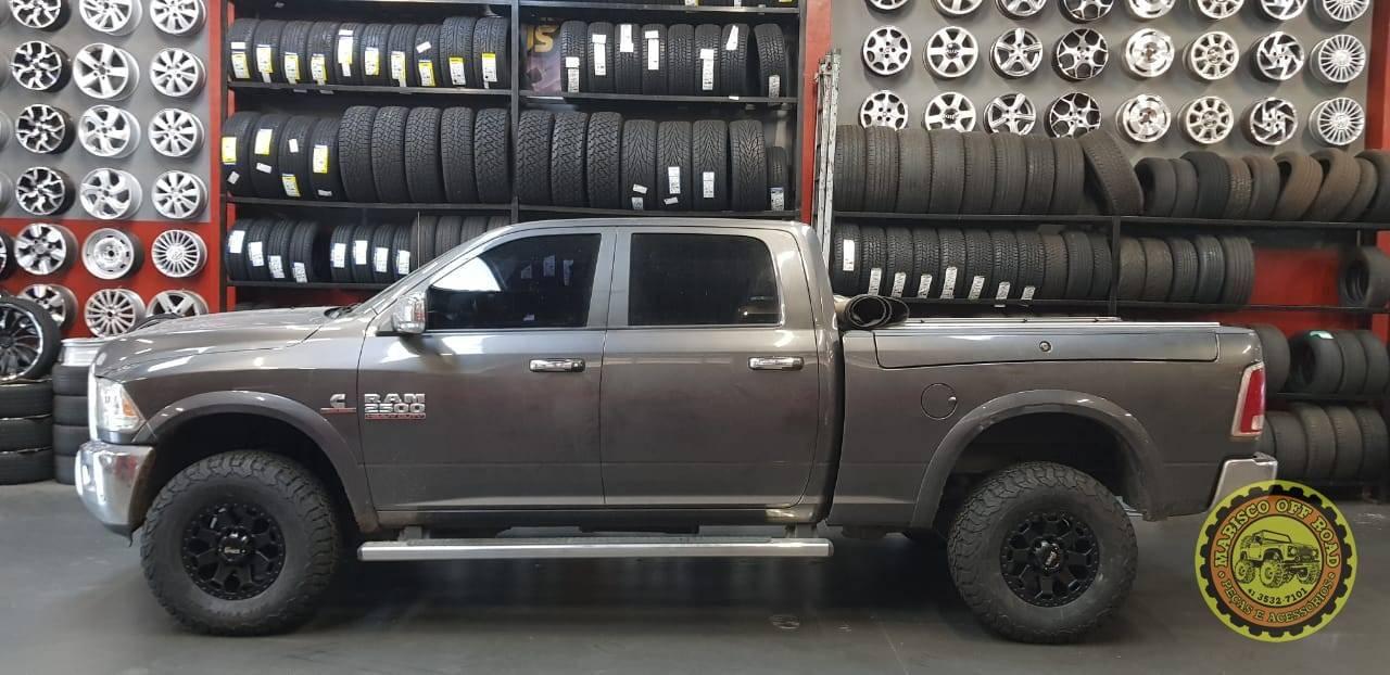 Roda 17x9 ZEUS, furação 8x165,1, off set 0 - DODGE RAM - Marisco Off Road