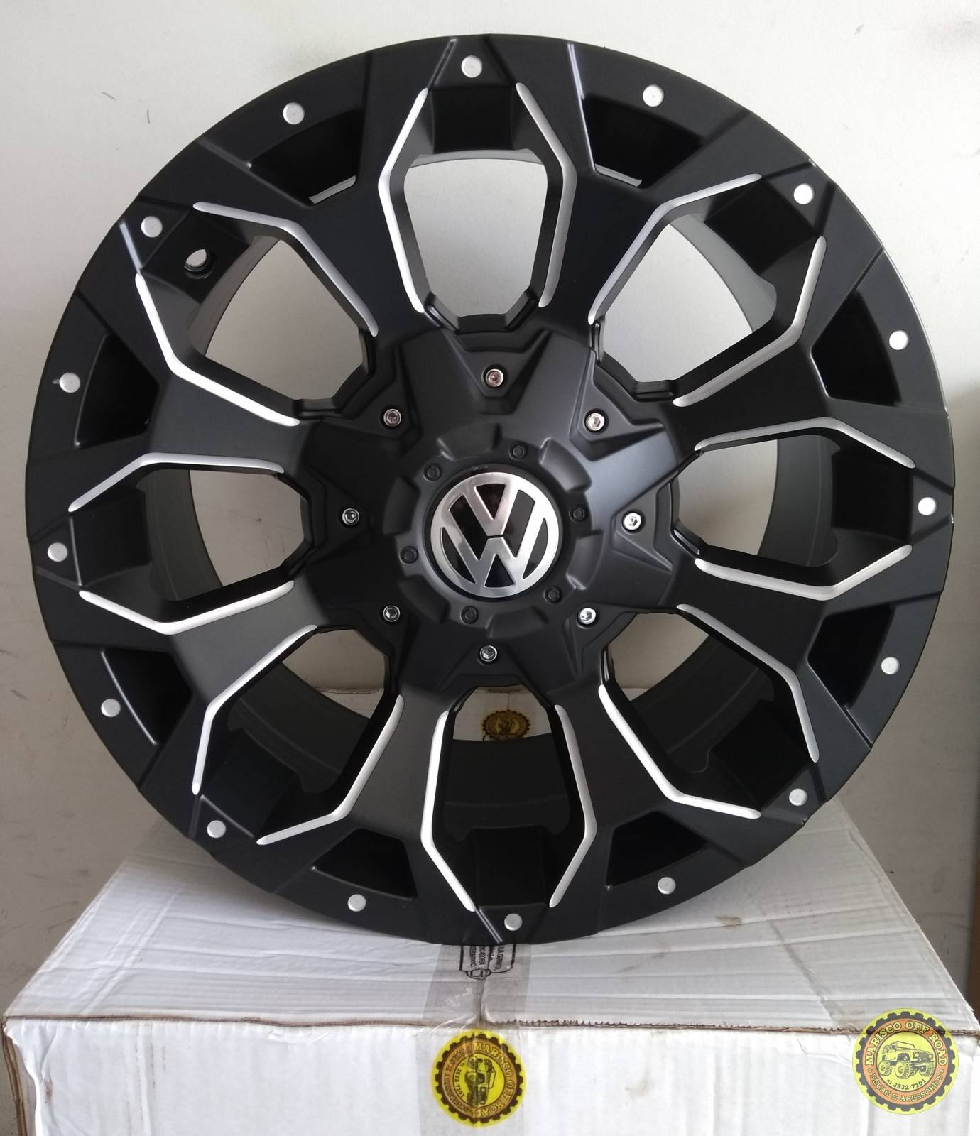 Roda 17x8 MK12, furação 5x120, off set +20 - AMAROK - Marisco Off Road