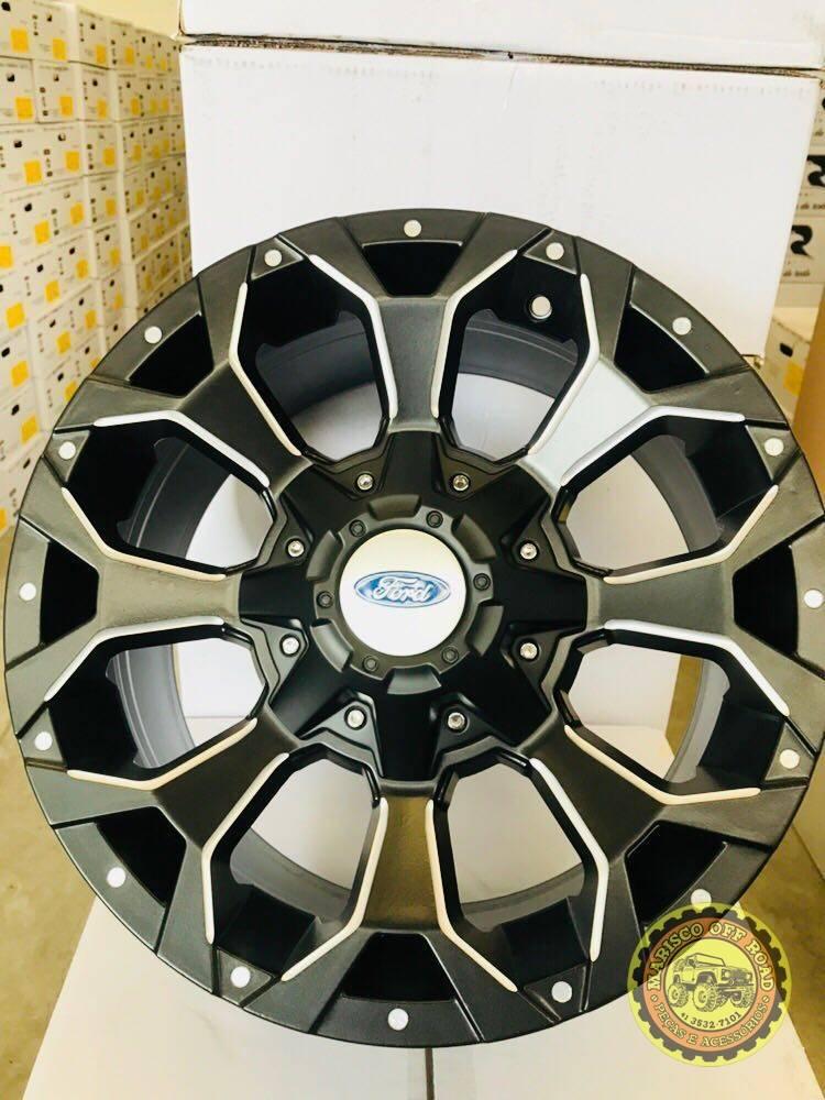 Roda 17x8 MK12, furação 5x114, off set +20 - RANGER ANTIGA - Marisco Off Road