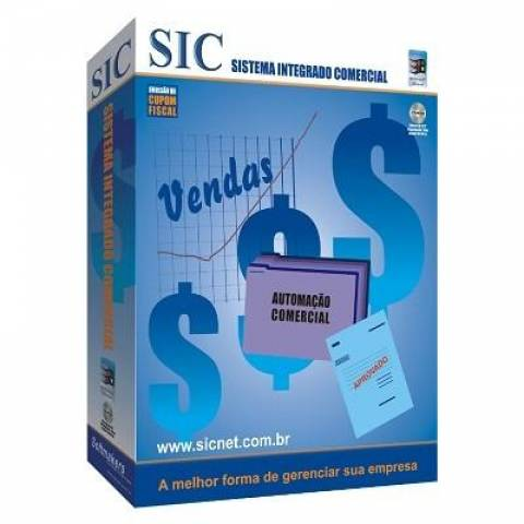 Sistema Integrado Comercial + Com Treinamento SIC
