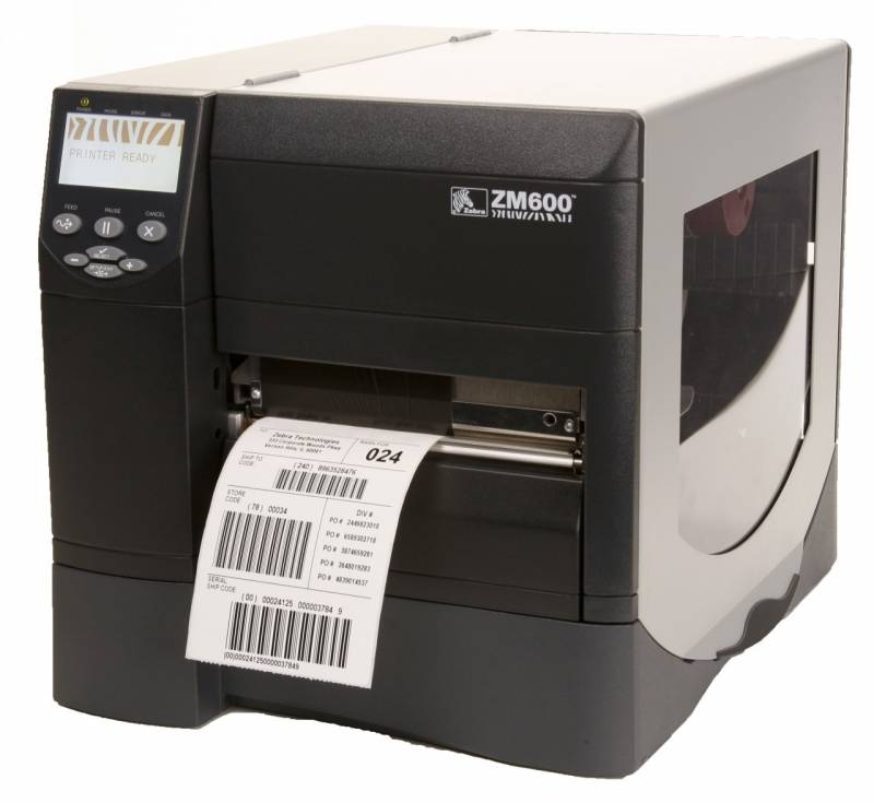 Impressora de etiqueta ZM 600