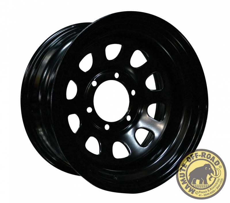 Roda Daytona Black - 17x9 (8x170)