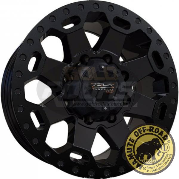 Roda Zeus - 17x9 (6x139) - Black
