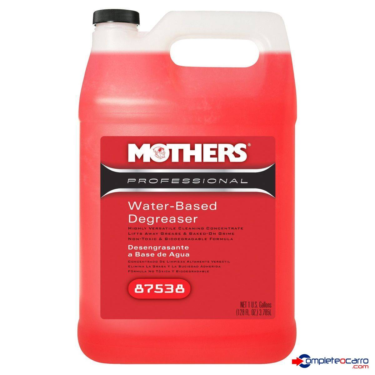 Desengraxante Profissional Water - Based Degreaser 3,78L Gal - Complete o Carro