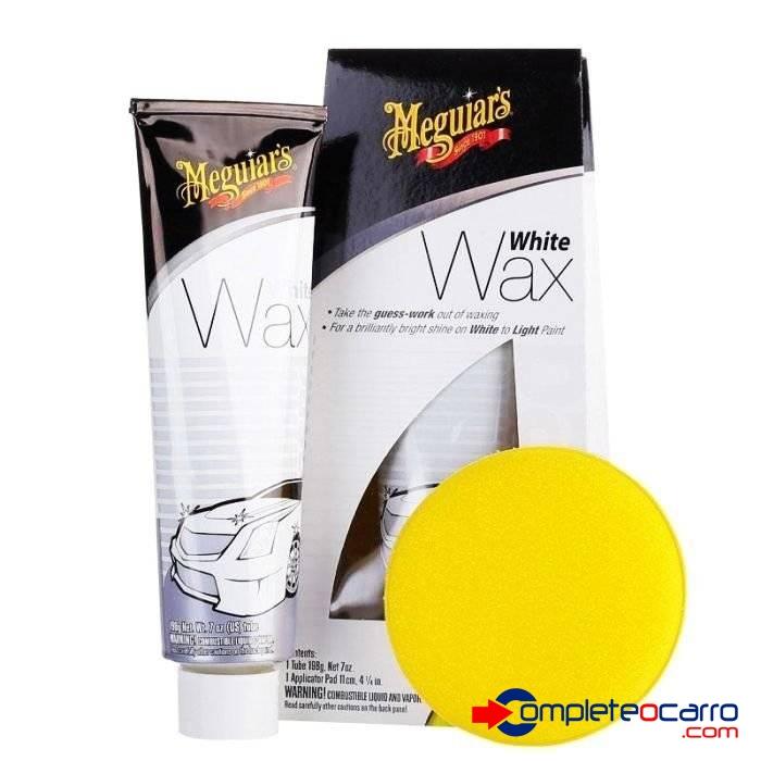 Cera para Carro Branco - White Wax - Meguiars G6107 (198g) - Complete o Carro