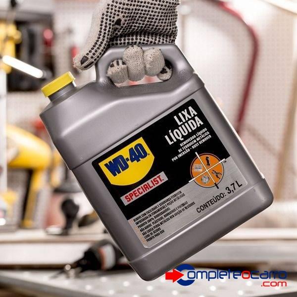 Lixa Líquida Removedor De Ferrugem WD-40 Specialist 3.7 litr - Complete o Carro