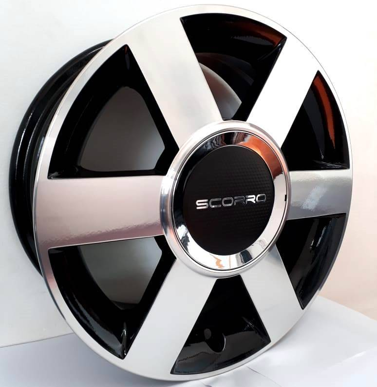 Jogo de rodas Ford Fiesta Aro 15