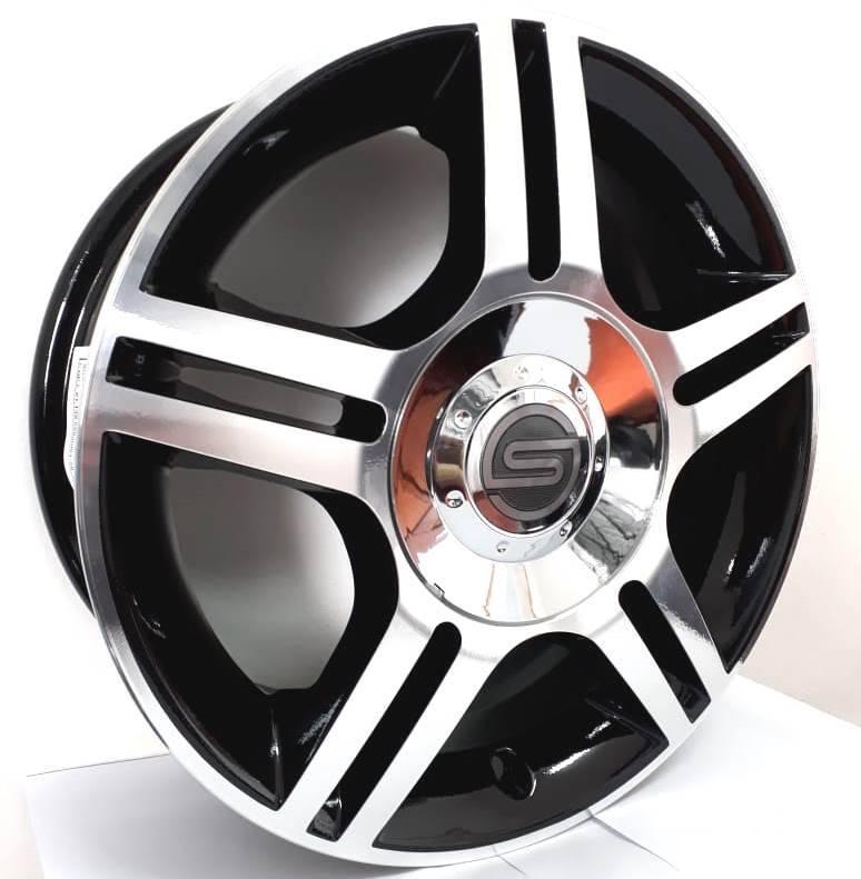 Jogo de rodas Ford Fiesta Aro 14
