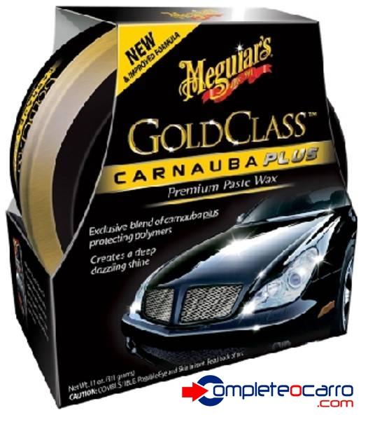 Cera Gold Class Pasta Carnauba Meguiar's 311g - Complete o Carro