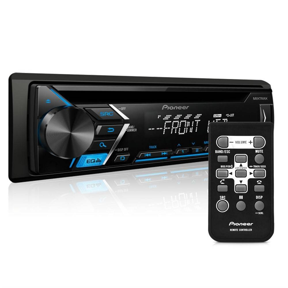 CD Player Automotivo Pioneer DEH-S1080UB 1 Din USB MP3 Inter - Complete o Carro