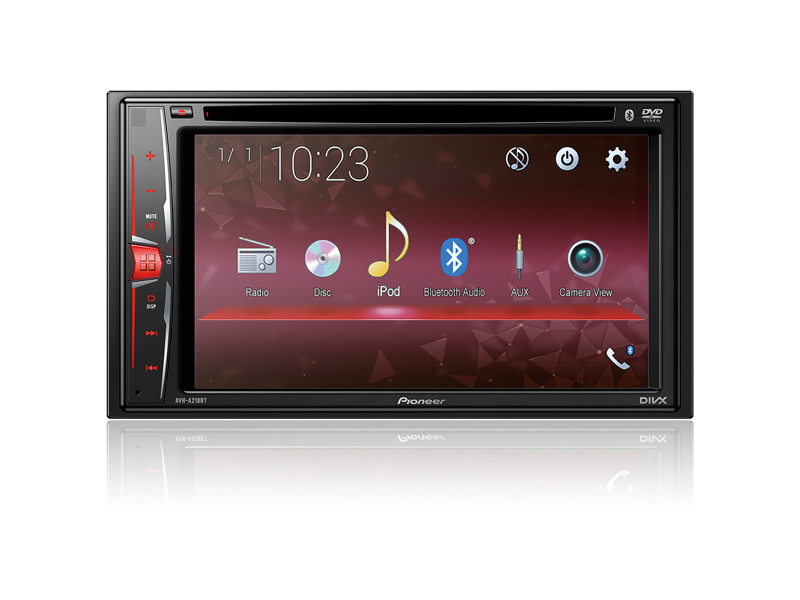 Central Multimídia DVD Pioneer AVH-A218BT - 2 Din Touch Scre - Complete o Carro