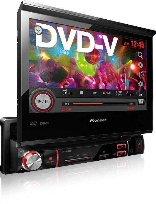 DVD Player Multimídia Receiver Pioneer AVH-3580DVD - USB, Au - Complete o Carro